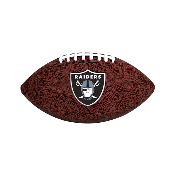 Oakland Raiders NFL Official Size Game Time Football 26735338