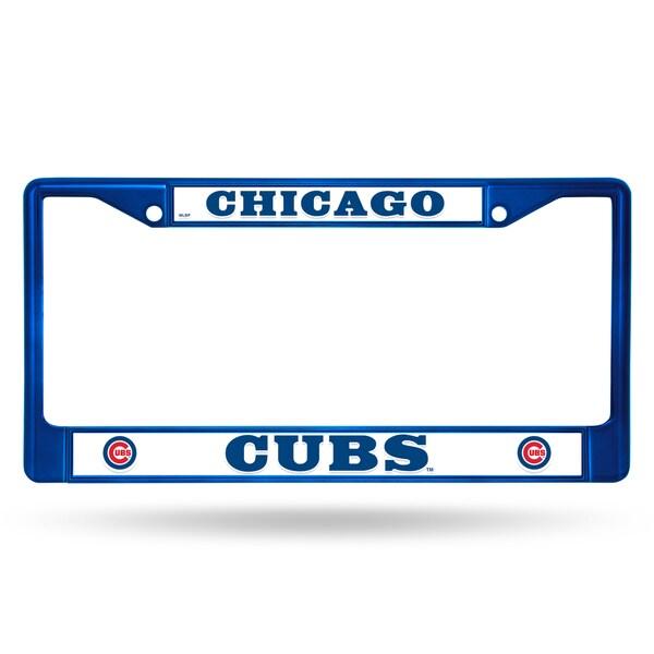 Chicago Cubs MLB Blue Color License Plate Frame 26735705