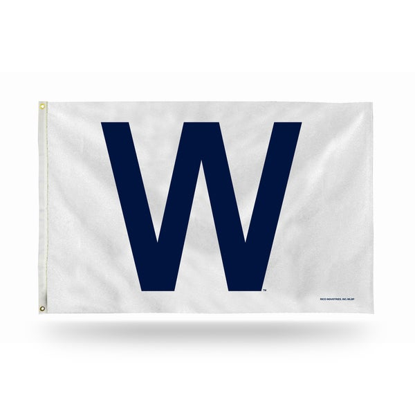 Chicago Cubs MLB 5 Foot Banner Flag 26735798