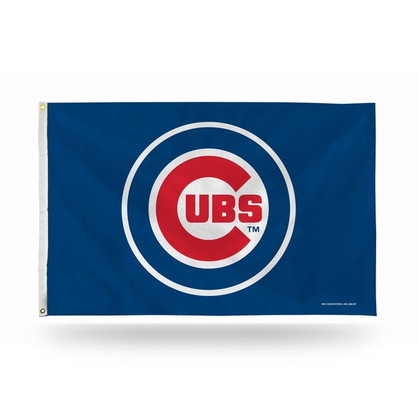 Chicago Cubs MLB 5 Foot Banner Flag 26735809
