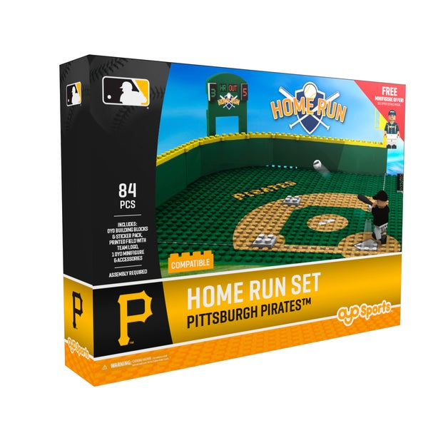 Pittsburgh Pirates MLB Home Run Derby Building Set 26735912