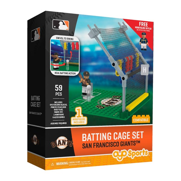 San Francisco Giants MLB Batting Cage Building Set 26736015