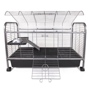 Living Room Series Rabbit/Guinea Pig Home - Black