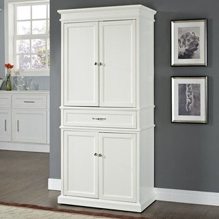"""Parsons Pantry in White - 33 """"W x 19 """"D x 72 """"H"""
