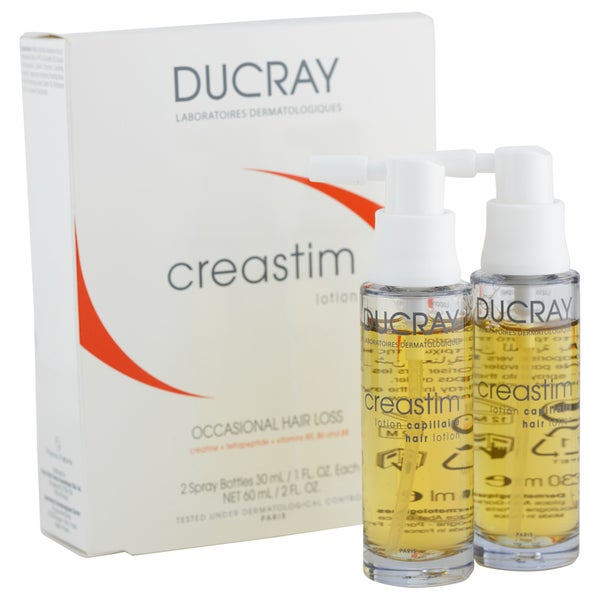 Ducray Creastim Hair Lotion (Pack of 2) 26771434