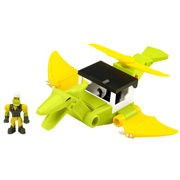 Educational Insights Dino Construction Company Rescue Crew Cyclone the Pteranodon Helicopter 26777156