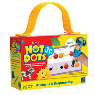 Educational Insights Hot Dots Jr. Card Set - Patterns & Sequencing 26778031