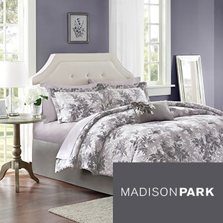 Madison Park Essentials Abbey 9-piece Bed in a Bag with Sheet Set