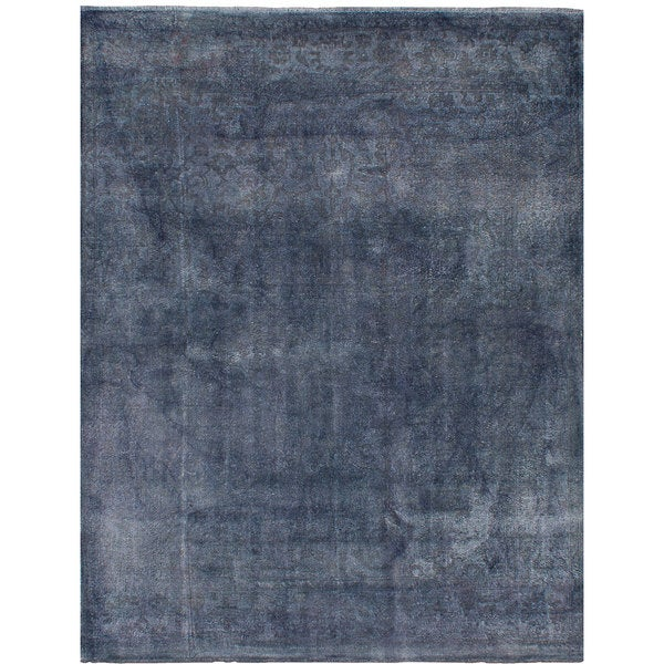 eCarpetGallery Color Transition Grey Bamboo Silk Hand-knotted Rug (8'10 x 11'9) 26791079