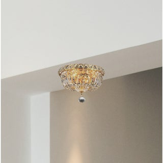 Living District Wiley Collection Gold Flush Mount