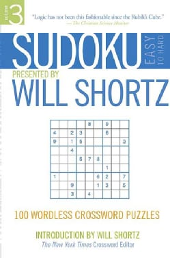 Sudoku Easy-to-hard Presented: 100 Wordless Crossword Puzzles (Paperback)