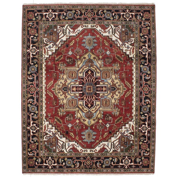 eCarpetGallery Serapi Heritage Red Wool/ Cotton Hand-knotted Rug (8'1 x 10'3) 26808948