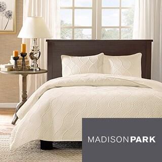 Madison Park Adelle 3-piece Coverlet Set