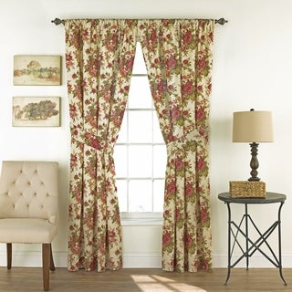 Waverly Norfolk Curtain Panel Pair - 100x84