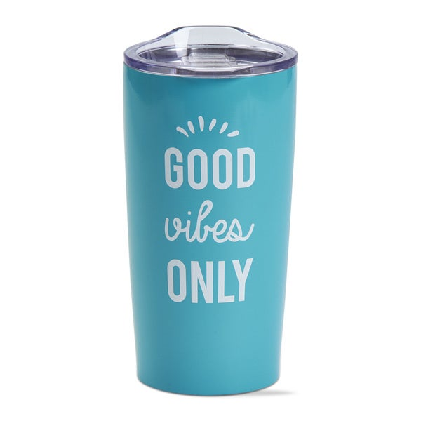 TAG Good Vibes Double Wall Stainless Steel Travel Mug 26850246