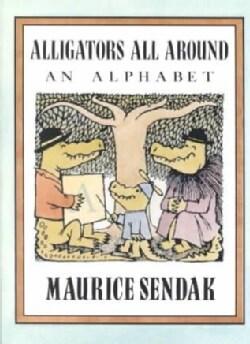 Alligators All Around: An Alphabet (Paperback)