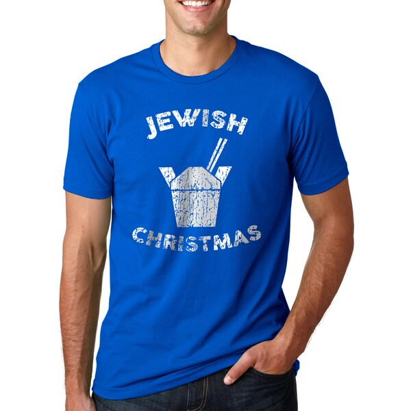 Mens Jewish Christmas Funny Chinese Take Out T shirt 26893124