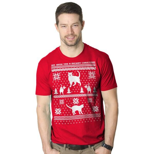 8 Bit Cat Butt T Shirt Funny Ugly Christmas Sweater Shirt Xmas Kitten Tee 26895282