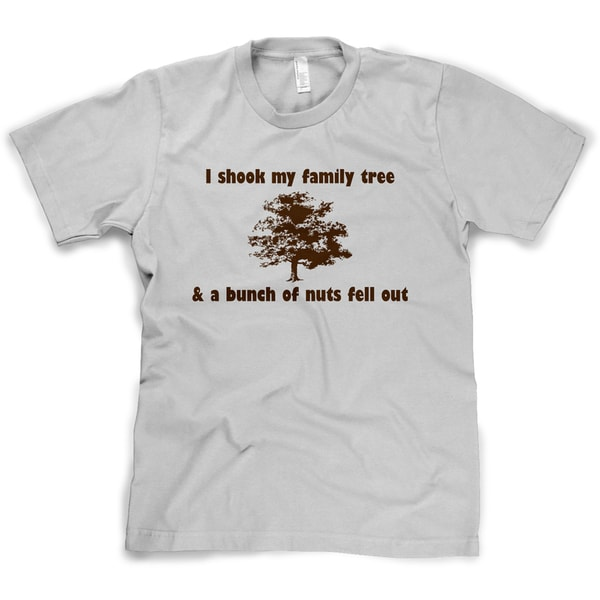 I Shook My Family Tree And Found A Bunch Of Nuts T Shirt Funny Reunion Tee 26896662