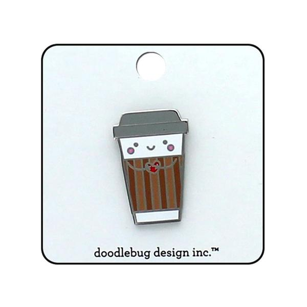 Doodlebug Cream & Sugar Collectible Pins Cup O' Jo 26919742