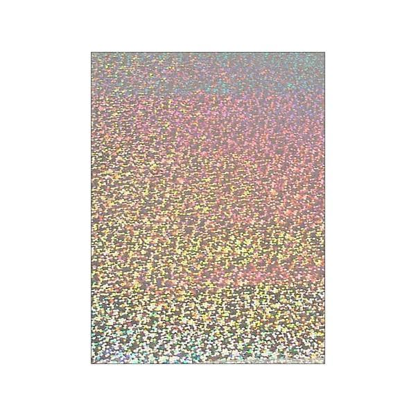 "Grafix Funky Film 9x12"" 12pc Silver Sequins 26920731"