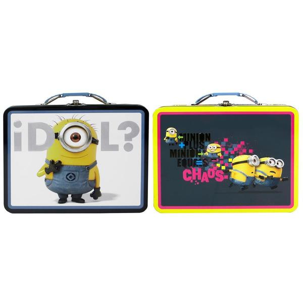 Tin Box Co Carry All Lg Despicable Me Minions Astd 26921627