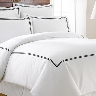 Modern Threads Cotton Blend 3-Piece Double Marrowing Duvet Set