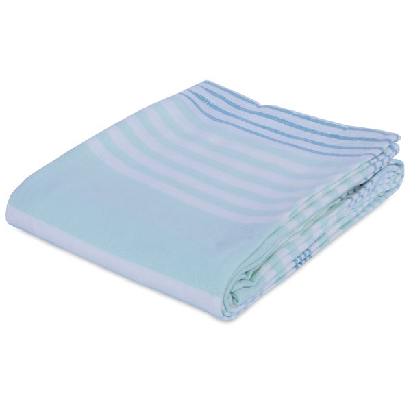 Berkshire Blanket Seaside Striped Acrylic Blanket 26922969