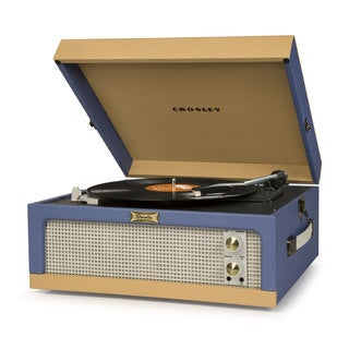 Dansette Junior Portable Record Player in Blue