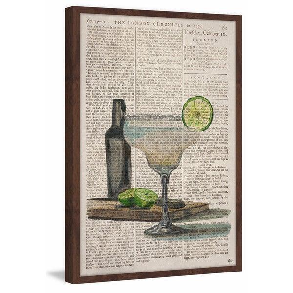 'Frozen Margarita' Framed Painting Print 26924579