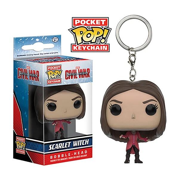 Pocket POP Civil War Scarlet Witch Vinyl Figure Keychain 26932272