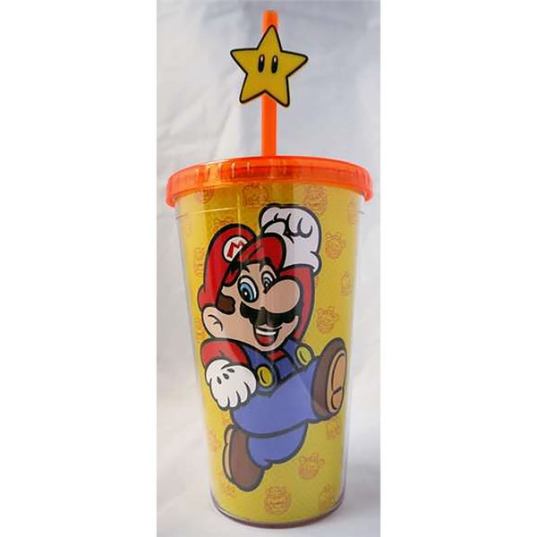 Just Funky Novelty Super Mario Mario 1UP Travel Mug 26933013