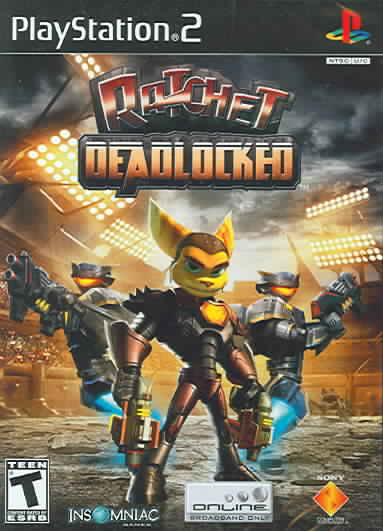 PS2 - Ratchet: Deadlocked