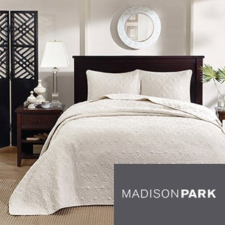Madison Park Mansfield 3-piece Oversized Bedspread Set