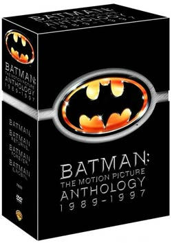 Batman: The Motion Picture Anthology 1989-1997 (DVD)