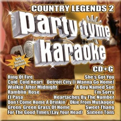 Party Tyme Karaoke - Country Legends Vol 2