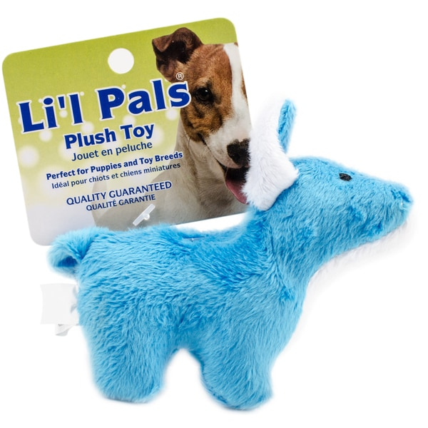 "Li'l Pals 4.5"" Plush Dog Toy 27013373"