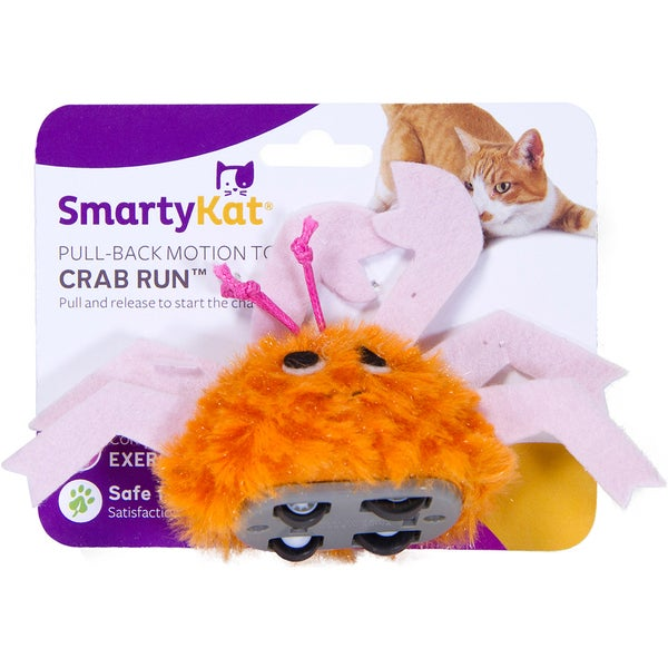 SmartyKat Crab Run Pull Back Toy 27013514