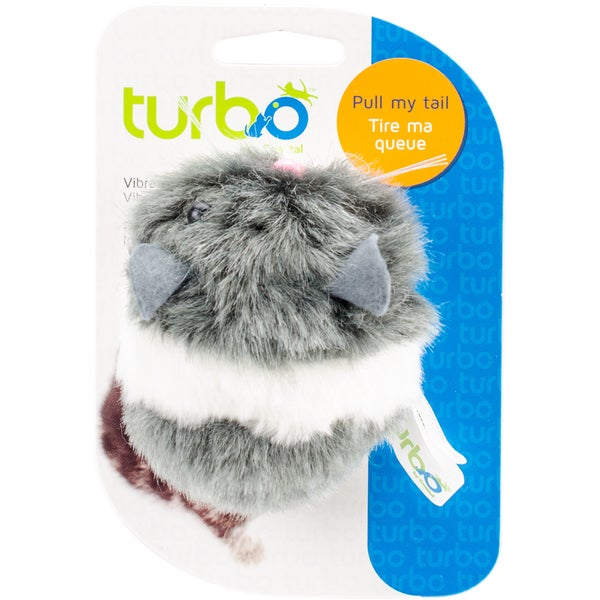 "Turbo Vibrating Cat Toy-Mouse - 3.5"" 27013571"