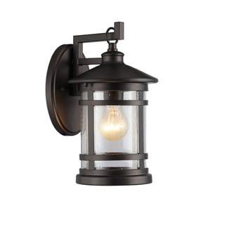 Abbington 1-light Oil Rubbed Bronze Outdoor Wall Lantern