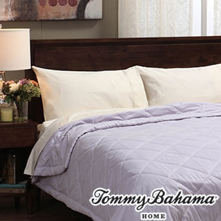 Tommy Bahama Embroidered Oversized Blanket