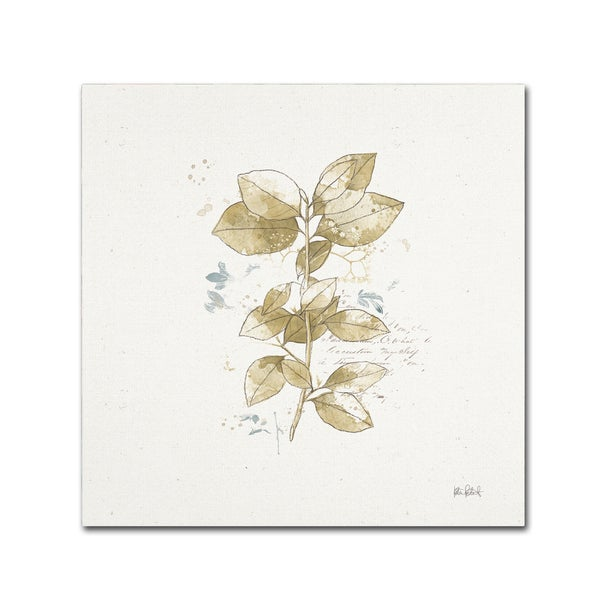 Katie Pertiet 'Floresta III' Canvas Art 27039952