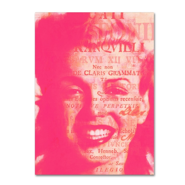 Andre Monet 'Some Like It Hot' Canvas Art 27040331