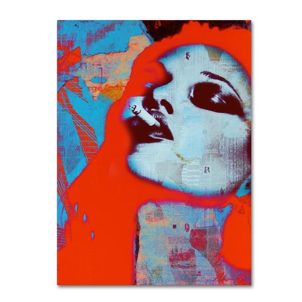 Andre Monet 'Smokin hot' Canvas Art 27040334