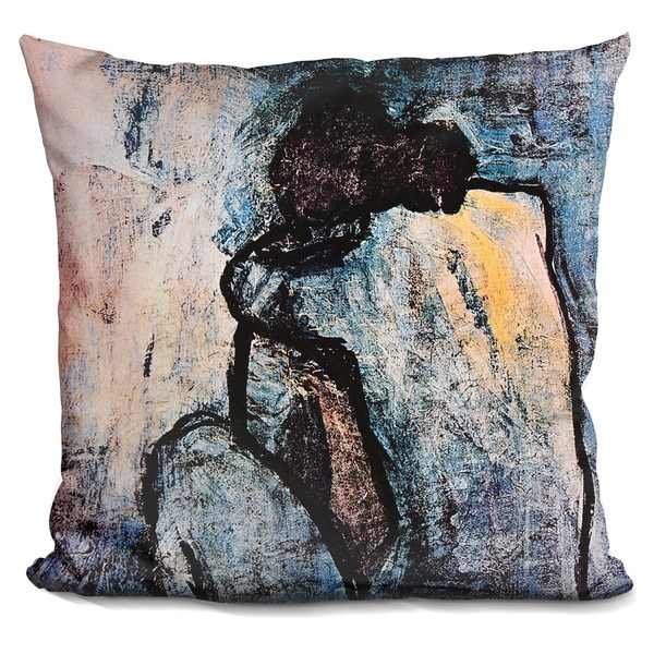 Pablo Picasso 'Blue nude' Throw Pillow 27042280