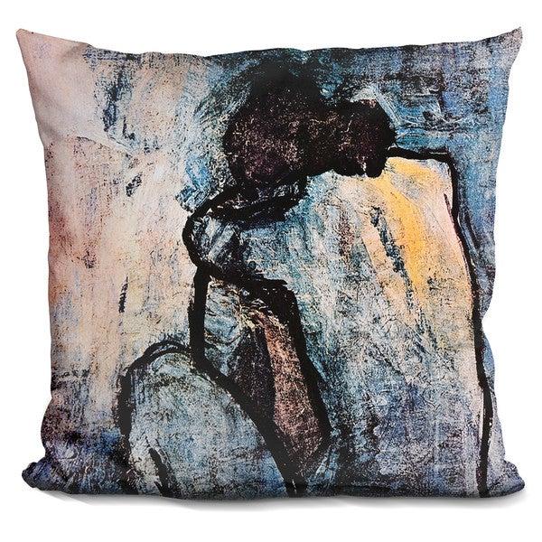 Pablo Picasso 'Blue nude' Throw Pillow 27042280