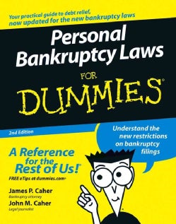 Personal Bankruptcy Laws for Dummies (Paperback)