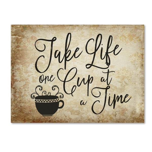 Marcee Duggar 'One Cup A Time' Canvas Art 27045292
