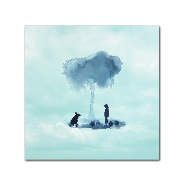 Tammy Kushnir 'A Boy And His Dog' Canvas Art 27047224