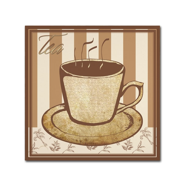 Masters Fine Art 'Tea' Canvas Art 27049734